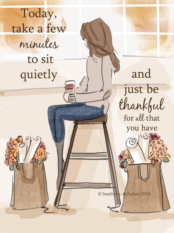 Vandaag ben ik dankbaar. Morgen ook.