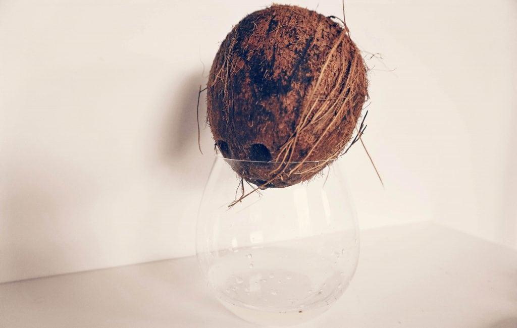 Kokosnoot openen