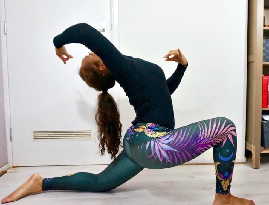 Teeki yoga kleding