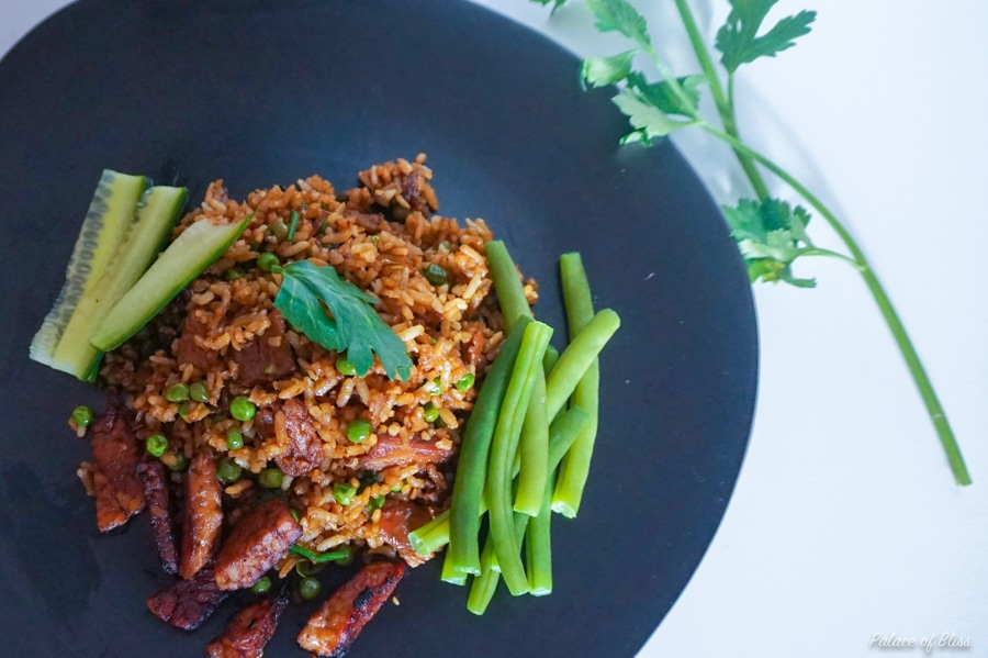 Recept || vegan Surinaamse nasi