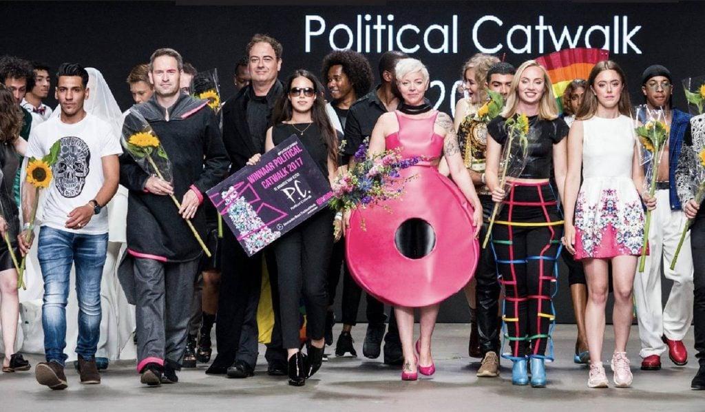 In dit artikel vind je een verslag van het project van Stichting F6. Political catwalk
