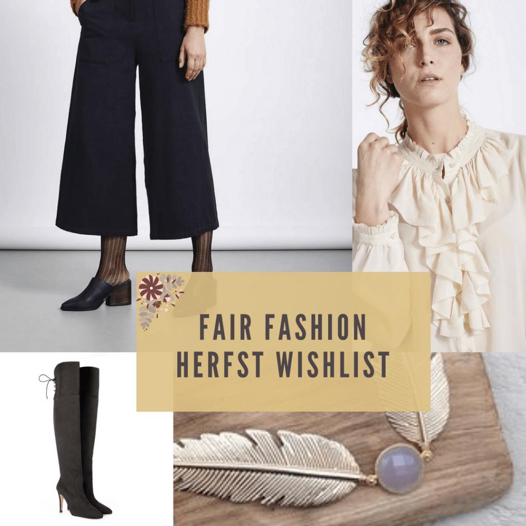 In dit artikel vind je een overzicht van 14 fair fashion kledingstukken die op de wishlist van Hailey Noa van Palace of Bliss staan