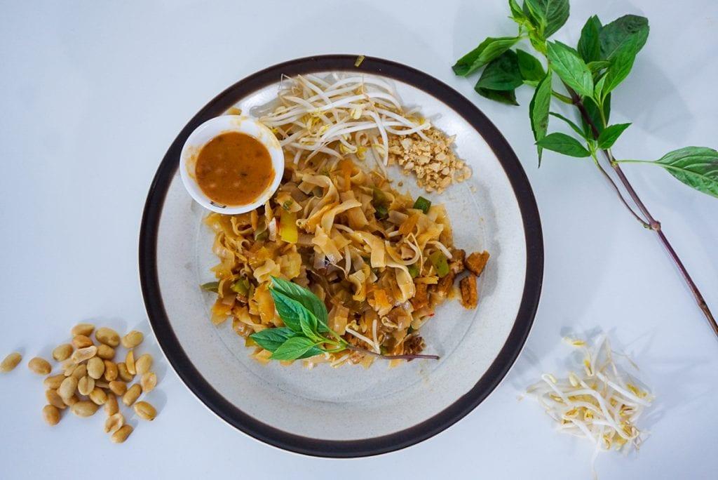 Recept | vegan Pad Thai & vegan Thaise pindasaus