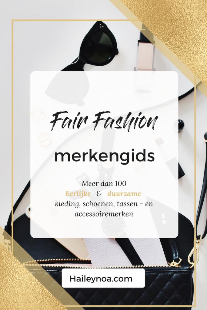 fair fashion Merkengids - overzicht duurzame kledingmerken