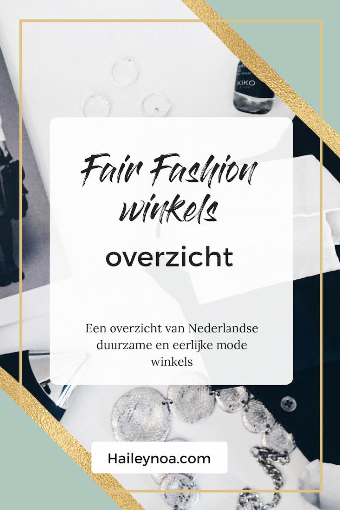 fair fashion winkels overzicht