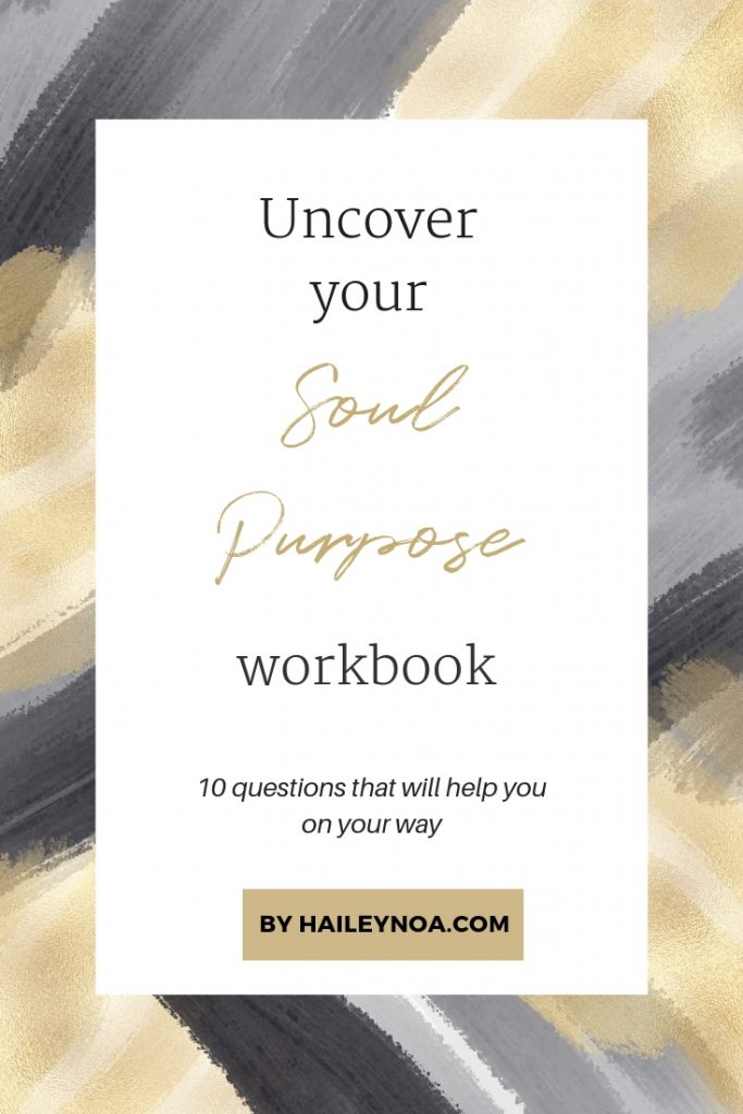 Uncover your purpose Workbook - Free